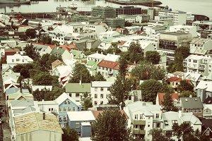 Reykjavik cityscape