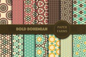 Bohemian digital paper