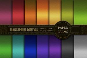 Brushed metal digital paper