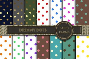 Polkadot digital paper