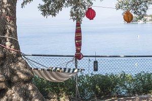 Hammock under the olive trees
