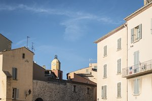 Saint-Tropez clock tower