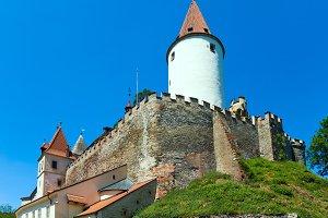 Krivoklat Castle in Czech Republic
