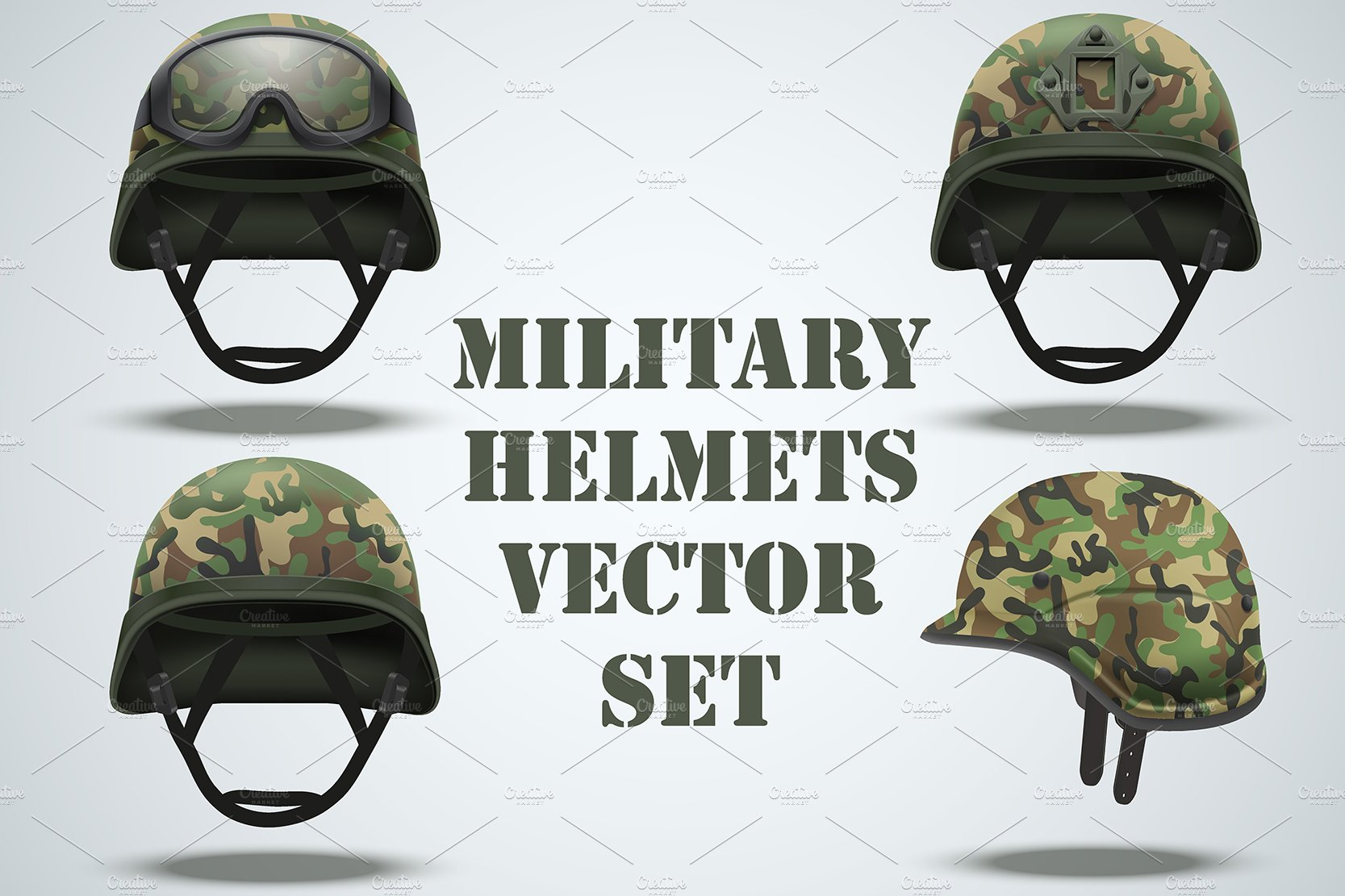 Air, Army, and Helmet Graphics, Designs & Templates