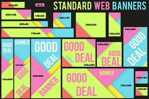 Bright Web Banners Templates
