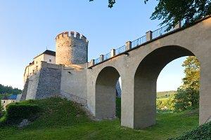Sternberk Castle in Czech Republic