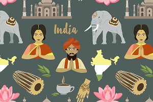 India set pattern