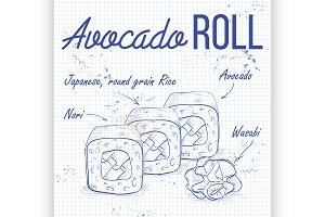 Avocado Roll recipe