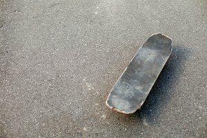 The grey old skate