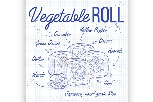 Vegetable Roll recipe