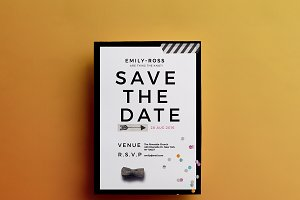 Modern | Minimal {Save the Date-DIY}