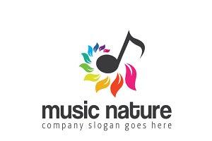 Music Nature Logo
