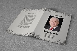 Funeral Program Template-T610
