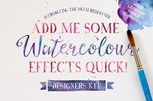 Add me some Watercolour Quick!
