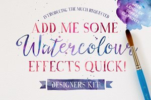 Add me some Watercolour Quick!