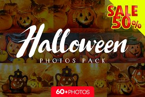 Halloween photos pack/ 60+pics