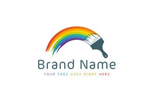 Painted Rainbow Logo