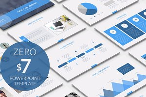 Zero Business Powerpoint Template