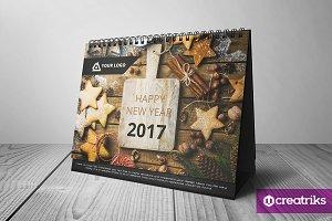 Desk Calendar 2017 - v001