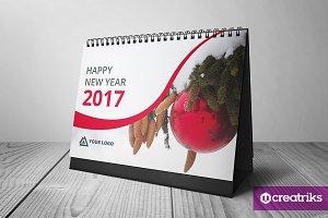 Desk Calendar 2017 - v002