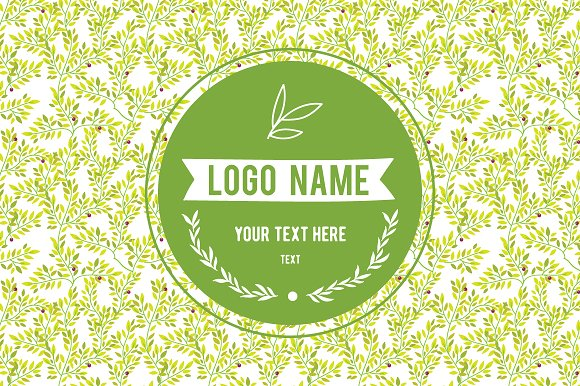 HAND DRAWLogo Design Element Kit  in Illustrations - product preview 3