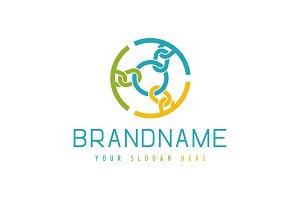 Chain Circle Logo