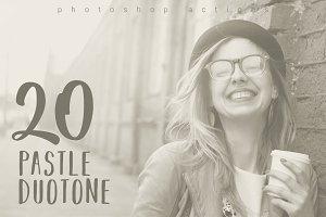 20 Pastel Duotone