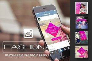 Fashiona | Instagram Fahion Banner