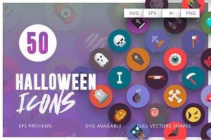 Halloween 50 Icons