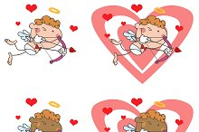 Cupid With Bow And Arrow. Collection