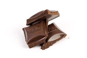 Sweet brown milk chocolate