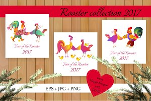Rooster collection 2017