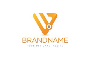 W Triangle Node Logo