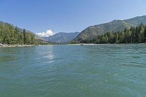 Katun river, Altay, Russia.