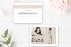 Boudoir Photography Referral Card