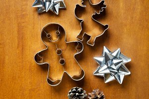 molds for Christmas biscuits