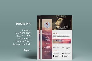 MS Word blog media kit - 2p
