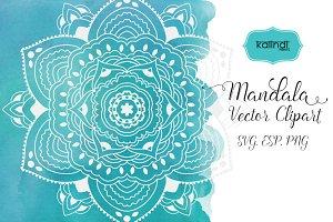 Mandala vector art. Mandala svg. M8