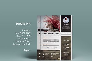 MS Word media kit - 2p