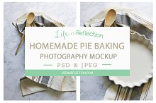 Baking Pie Photo Mockup