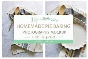 Baking Pie Photo Mockup