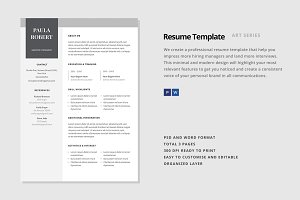 "Resume Template - ""Canopus"""