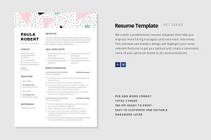 "Resume Template - ""Centauri"""