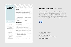 "Resume Template - ""Pegasi"""
