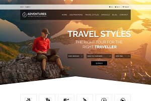 Adventure and Tour Html Template