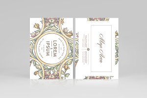 Wedding Invitation Template Vol-3