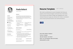 "Resume Template - ""Polaris"""
