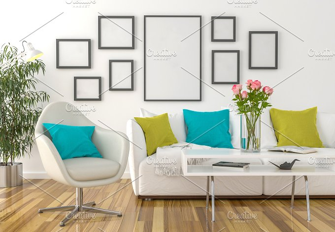 Living Room Background Arts Entertainment Photos Creative Market