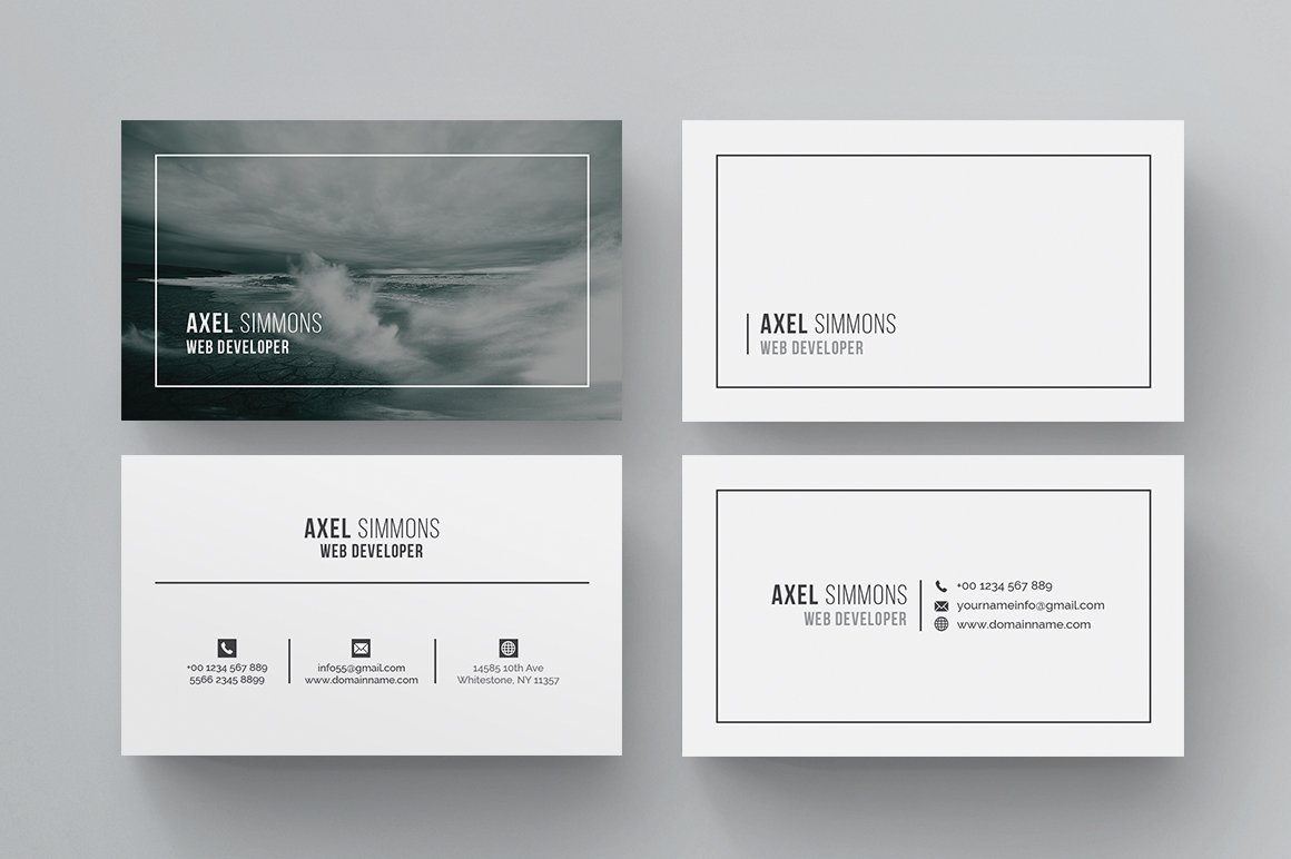 Business card business card templates creative market magicingreecefo Choice Image