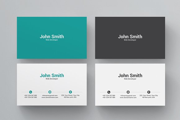 Business card business card templates creative market reheart Images